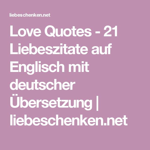 Love Quotes  Liebeszitate Auf Englisch Mit Deutscher Ubersetzung Liebeschenken Net