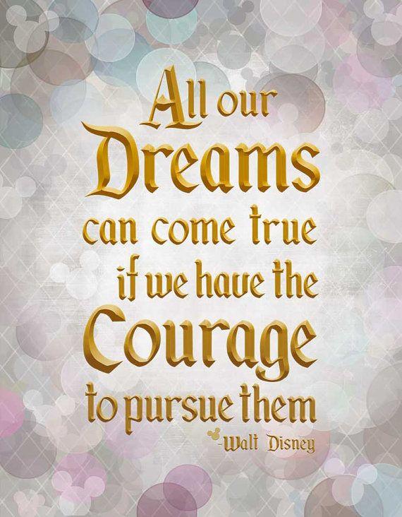 Dreams Can Come True Walt Disney Quote By Tuckerreece On Etsy