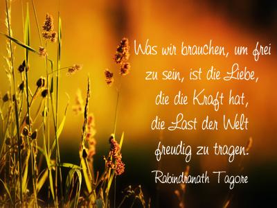 Zitat Goethe Weg