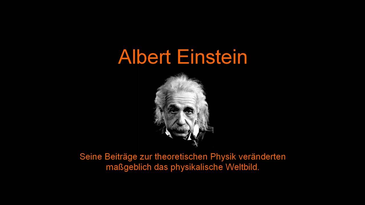 Albert Einstein Vegetarier Youtube