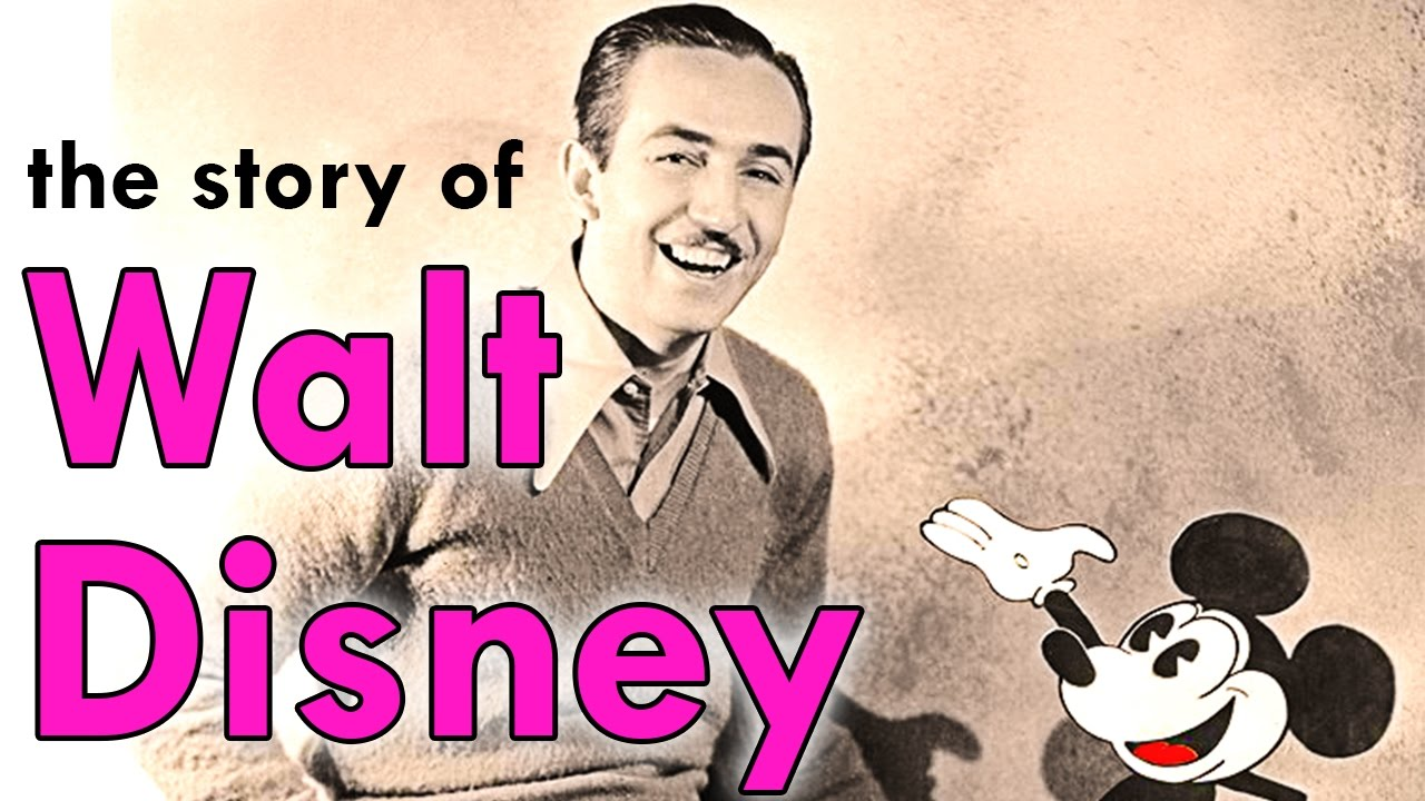 An Animated Biography Of The Inspiring Walt Disney Youtube