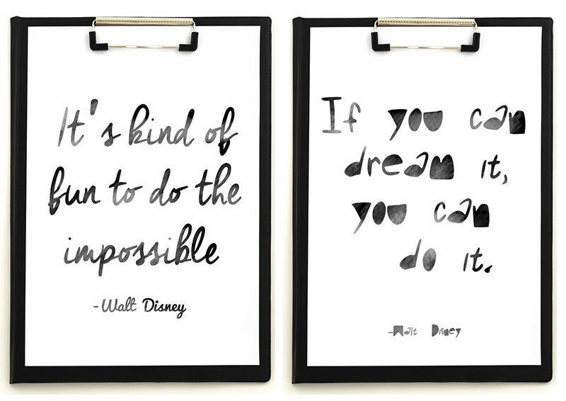 Free Printable Walt Disney Quotes
