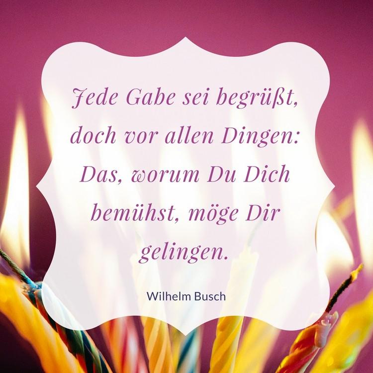 Wilhelm Busch Zitate Geburtstag Geburtstagskarte  Zitate Zum Geburtstag Aphorismen Und Weisheiten Zum Nachdenken