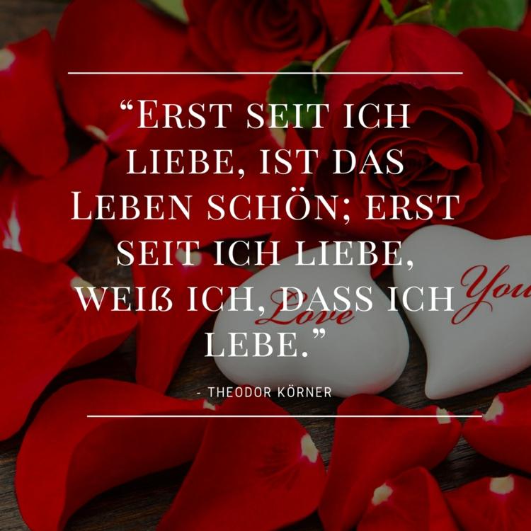 Zitate Liebe Theodor Korner Leben Wichtigste Rosen Rot Zitate Uber Liebe Von Beruhmtheiten Aus Buchern Liedern Und Filmen