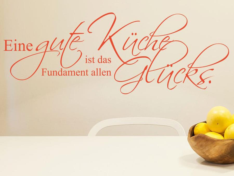 Wandfolio Wandtattoo Sprueche Zitate Essen Trinken Inhalt