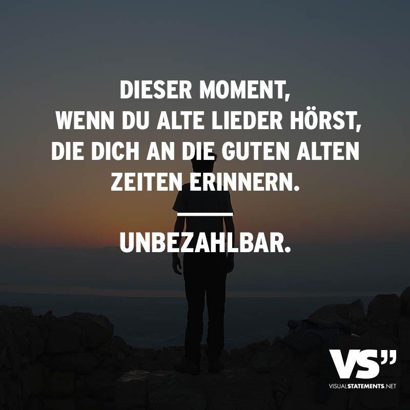 Ser Moment Wenn Du Alte Lieder Horst Dich An Guten Alten Zeiten