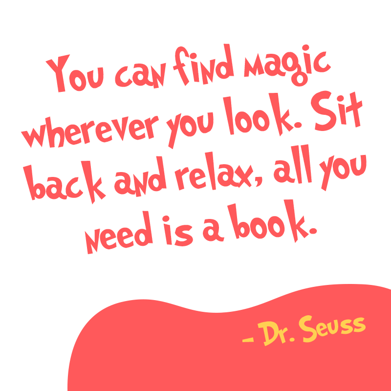 Inspirational Reading Quote From Dr Seuss Https Www Getepic Com