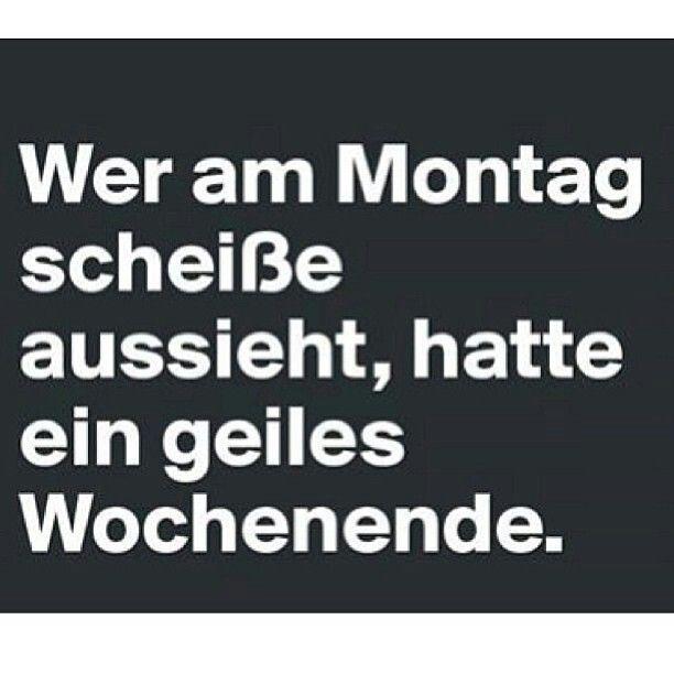 Geiles Wochenende Deutsch Zitate