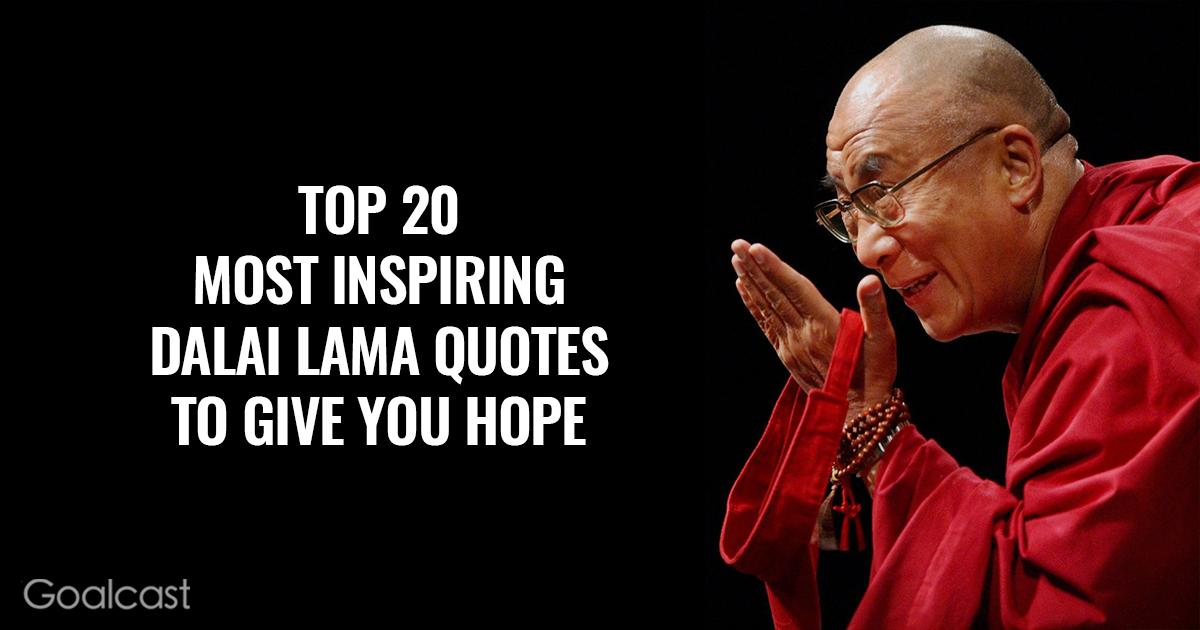 Top  Most Inspiring Dalai Lama Quotes