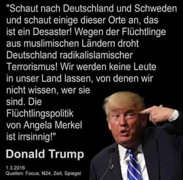 Zitat Donald Trump