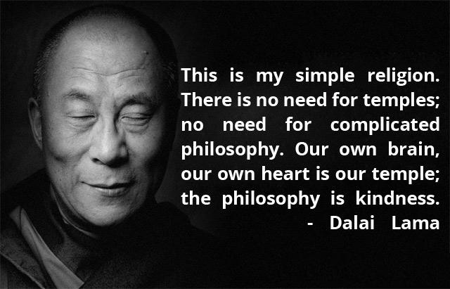 Dalai Lama Quote On Kindness