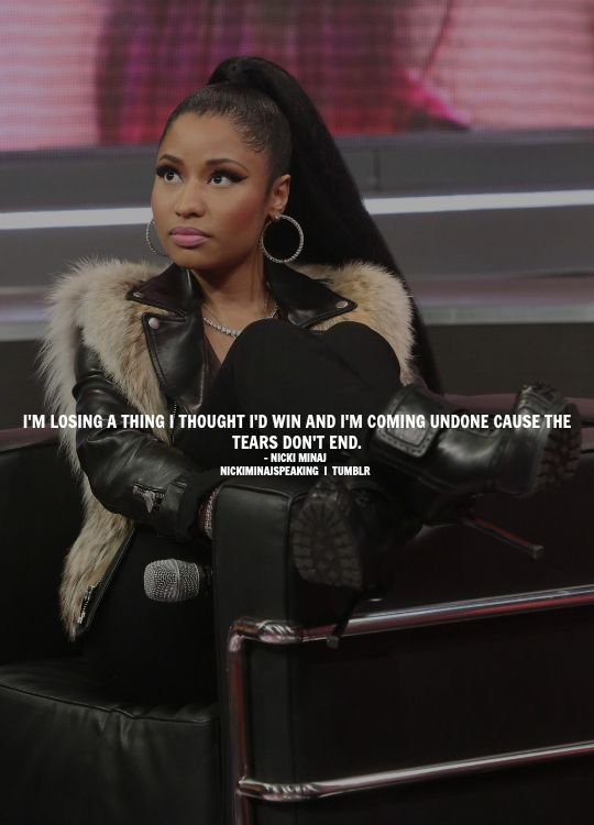 Heartfelt Quotes Niki Minaj Quotes Queen Quotes Nicki Minaj Lyrics Nicki Minja Famous Quotes Im Tired Boss Babe Funny Quotes
