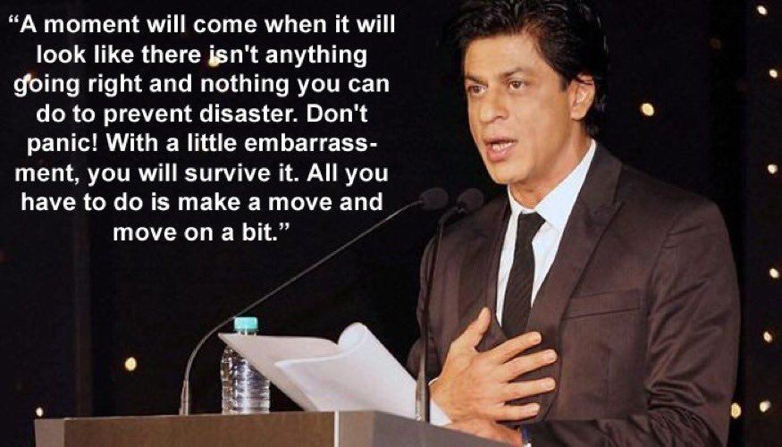 Schauspieler Zitate Shahrukh Khan Bollywood Hustle Idol Schauspielerinnen