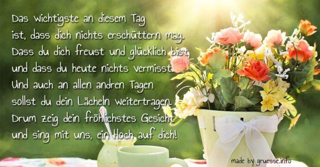 Geburtstagsgedichte Schone Gedichte Zum Geburtstag