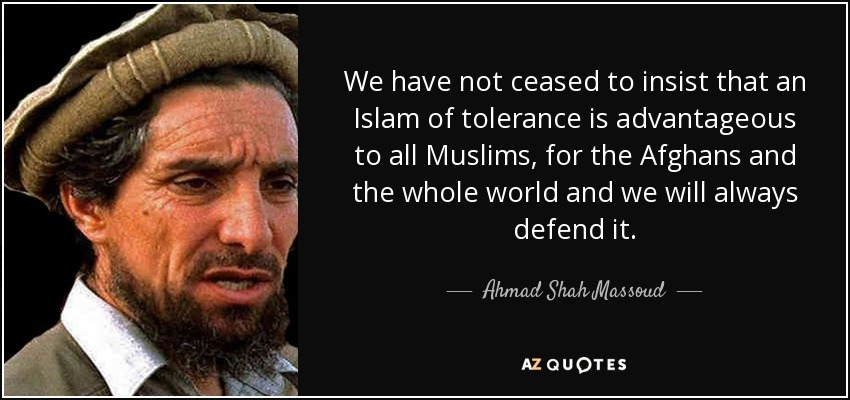 Quotes By Ahmad Shah Massoud A Z Quotes