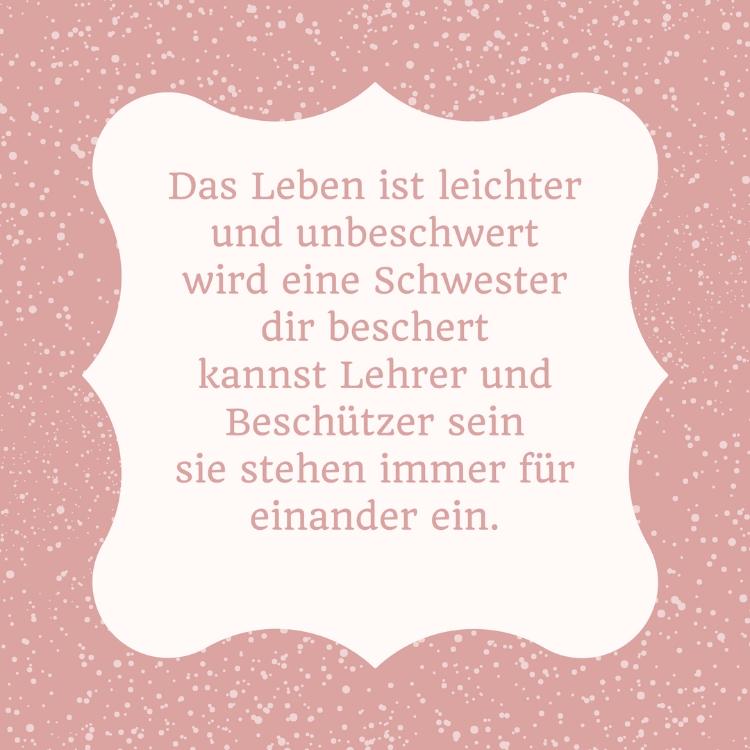 Schwester Spruche Zitat Leben Geschwister  Schwester Spruche Lustige Zitate Und Weisheiten Uber Geschwister