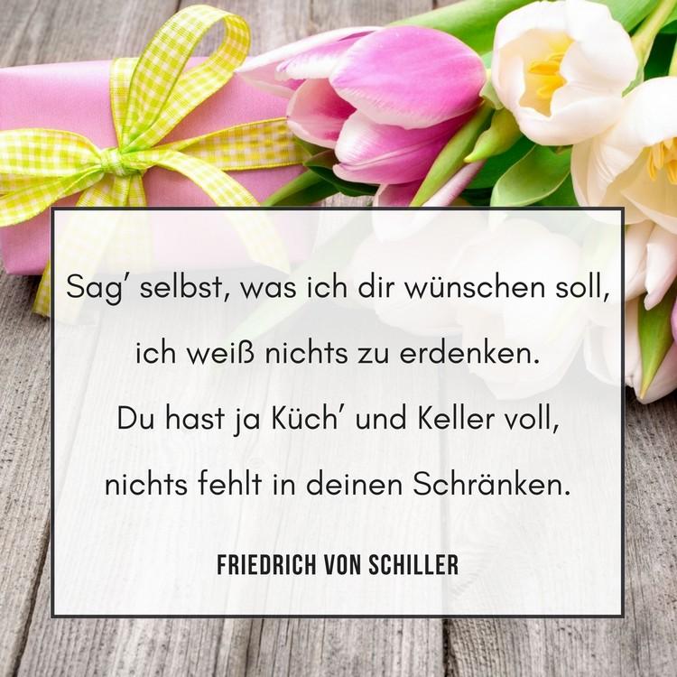 Zitate Geburtstag Geburtstagswunsche Schiller Zitat  Zitate Zum Geburtstag Aphorismen Und Weisheiten Zum Nachdenken