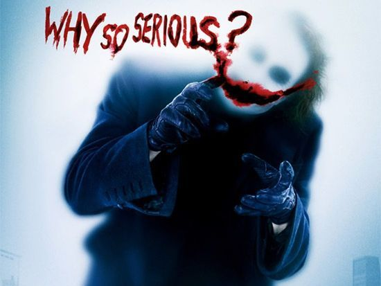 Kalimat Populer Dari Joker Yang Bernilai Positif Bagi Setiap Orang