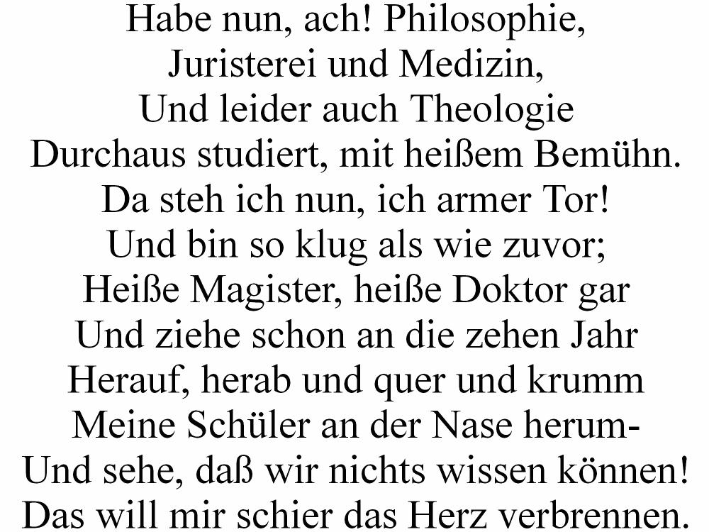 Zitate Von Goethe Faust Spruche Zitate Leben