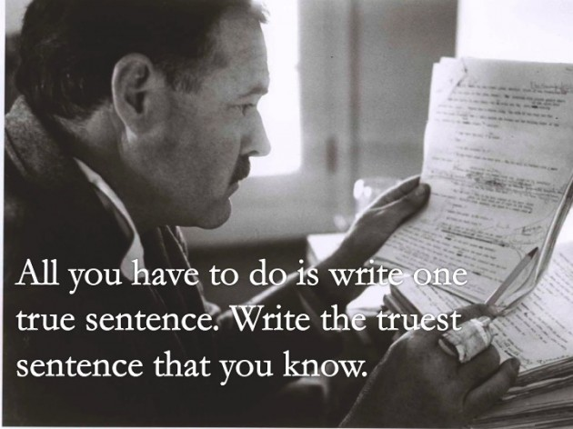 Essential Ernest Hemingway Quotes About Writing