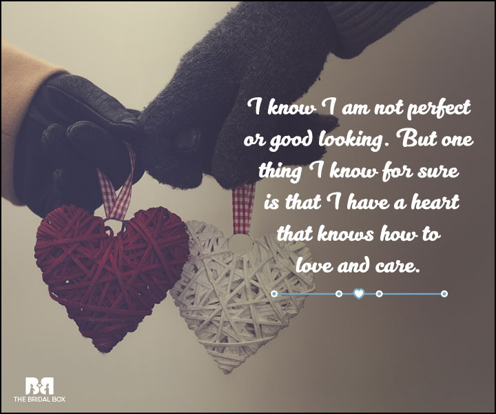 Love And Care Quotes Im Not Perfect