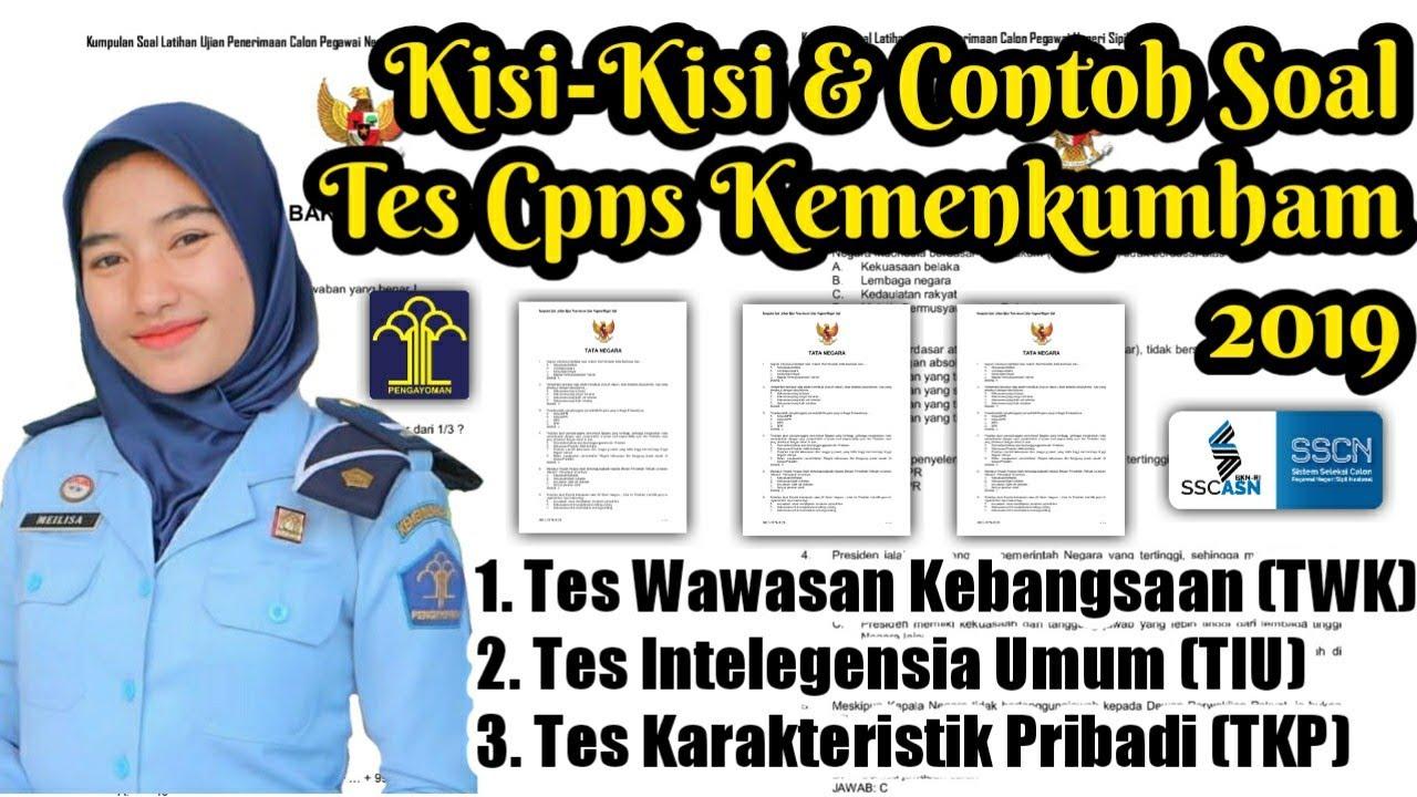 Contoh Soal CPNS dan Kunci Jawaban Berdasarkan Kisi-kisi ...