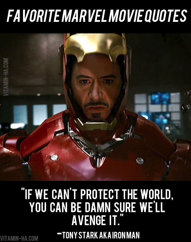 Favorite Marvel Movie Superhero Quotes Litterally The Funniest Part Of The Movie
