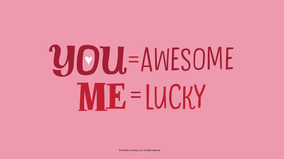 Love Quotes Lucky Me