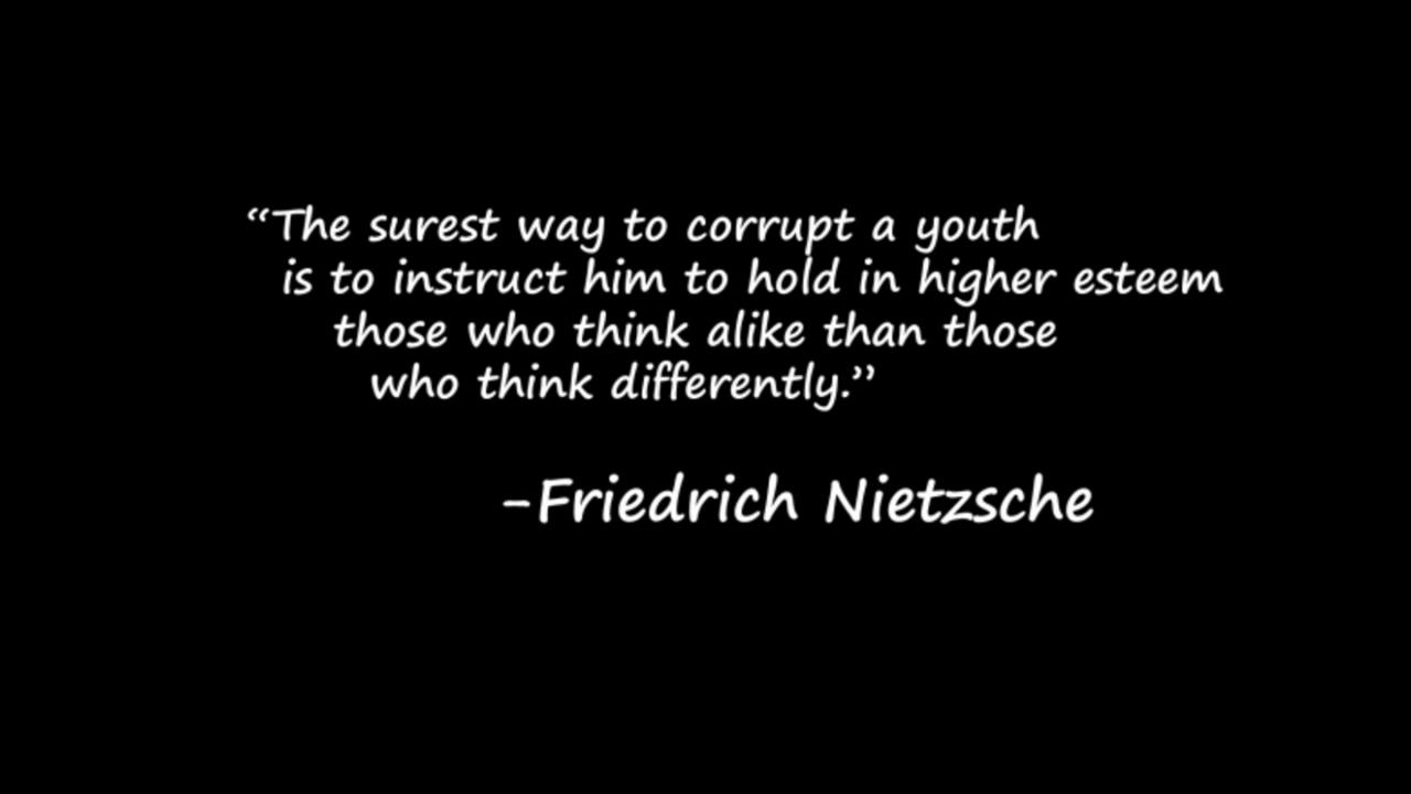 Some Of My Favourite Nietzsche Quotes