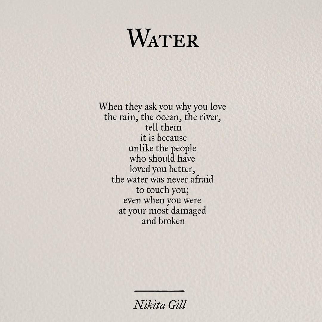 Nikita Gill On Poetry Poem Nikitagill Writing Poetsof