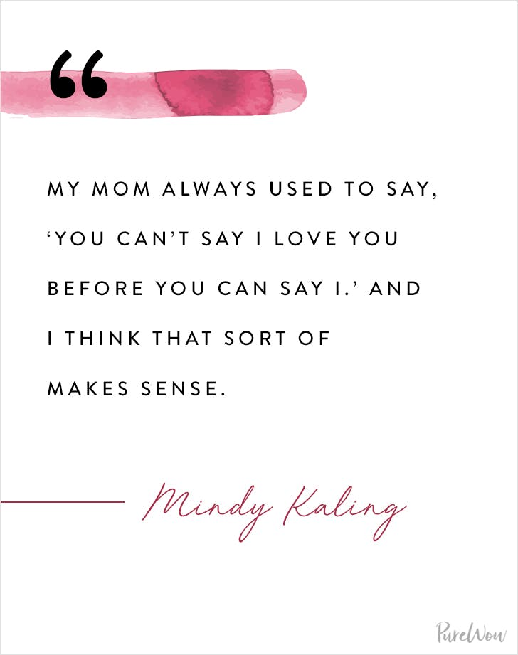 Mindy Kaling Love Quote