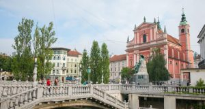 Travel through the Old City of Ljubljana, Little Heaven in Slovenia
