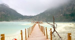 Vacation to the Beautiful Kawah Putih the White Crater Bandung