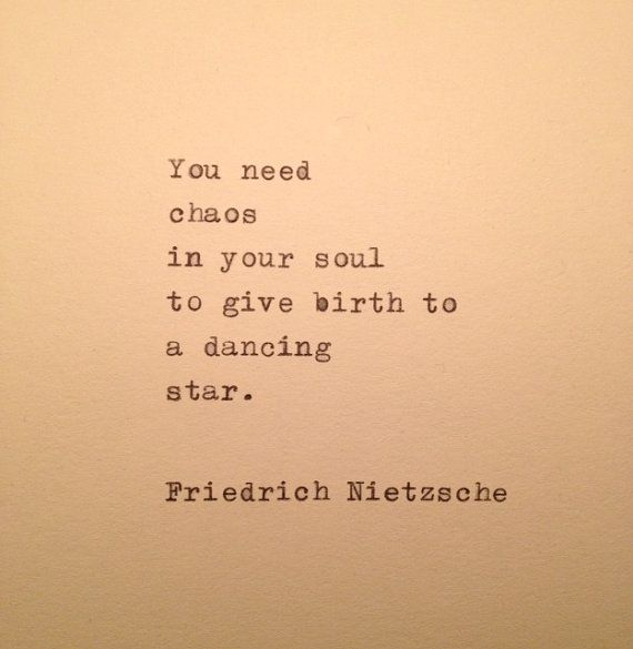 Friedrich Nietzsche Quote Typed On Typewriter