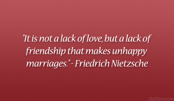 Friedrich Nietzsche Quotes On Love