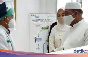 Hari Lebaran, Gubernur Maluku Kunjungi Tenaga Kesehatan COVID-19 di Ambon