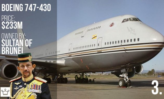 Boeing 747-430 Private Jet
