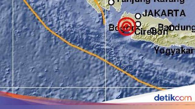 Gempa M 5,4 di Banten Terasa di Jakarta hingga Bandung